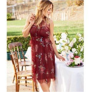 LC Lauren Conrad Tulle A-Line Dress